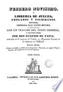 Febrero novisimo ó, Librería de jueces, abogados y escribanos, 6