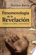 Fenomenología de la Revelación