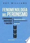 Fenomenología del peronismo