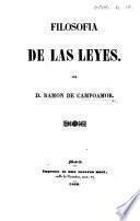 Filosofia de las leyes