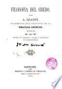 Filosofía del credo