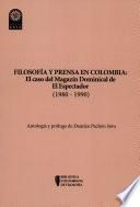 Filosofía y prensa en Colombia