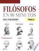 Filósofos en 90 minutos (Pack 2)