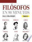Filósofos en 90 minutos (Pack 3)