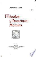 Filósofos y doctrinas morales