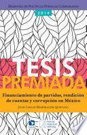 Financiamiento de partidos, rendición de cuentas y corrupción en México
