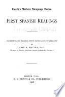 First Spanish readings