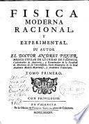 Fisica moderna racional, y experimental