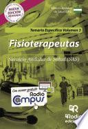 Fisioterapeutas. Servicio Andaluz de Salud (SAS). Temario Específico Volumen 3