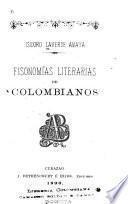 Fisonomías literarias de colombianos