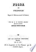 Flora de Filipinas