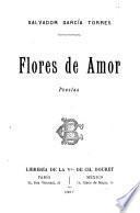 Flores de amor, poesías