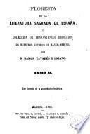 Floresta de la literatura sagrada de España ó Colección de pensamientos escogidos de nuestros autores de mayor mérito