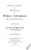 Floresta de rimas antiguas castellanas