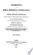 Floresta de rimas modernas Castellanas (etc.)