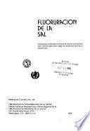 Fluoruración de la sal