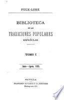 Folk-lore español