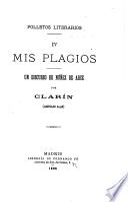 Folletos literarios ...: Mis plagios