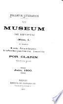 Folletos literarios: Museum