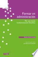 Formar en administración