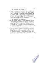 Fr. Miguel de Guevara y el célebre soneto castellano No mo mueve, mi Di cApuntaciones por Alberto María Carreño ... Con ilustraciones del mismo aut