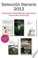 Fragmentos literarios Primavera 2013