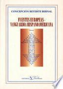 Fuentes europeas - Vanguardia Hispanoamericana