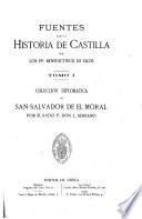 Fuentes para la historia de Castilla
