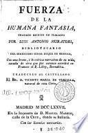 Fuerza de la humana fantasia