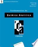 Fundamentos de química analítica. Vol. 1