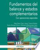 Fundamentos del balance y estados complementarios