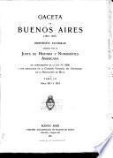 Gaceta de Buenos Aires (1810-1821): 5. nov. 1811-29. dic. 1813