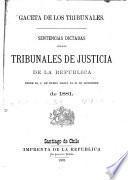 Gaceta de los tribunales