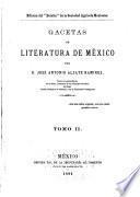 Gacetas de literatura de México