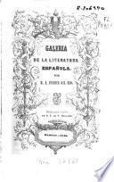 Galeria de la literatura Española. (Complemento de la Galeria, etc.).