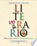 Ganadores del Concurso Literario para niñas, niños y jóvenes mexicanos. Decamerón 2020