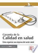 Garantía de la calidad en salud