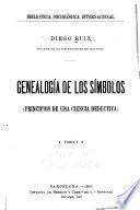 Genealogia de los simbolos