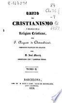 Genio del cristianismo ó Belleza de la religión cristiana