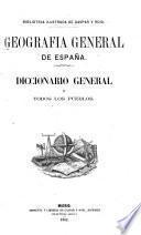Geografía general de Espana