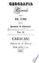 Geografia general para el uso de la juventud de Venezuela
