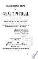 Geografía histórico-militar de España y Portugal