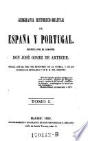 Geografia Historico Militar ed Espana y Portugal