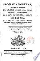 Geografia moderna, escrita en francés