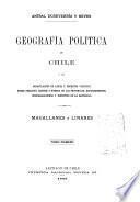 Geografía política de Chile
