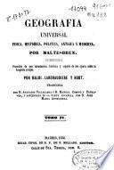 Geografía universal física, histórica, política antigua y moderna: (538 p., [3] h. de grab.)