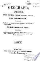 Geografía universal física, histórica, política antigua y moderna