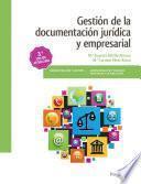Gestión de la documentación jurídica y empresarial 3.ª edición 2017