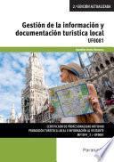 Gestión de la información y documentación turística local
