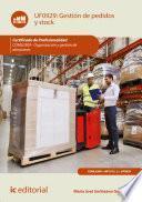 Gestión de pedidos y stock. COML0309